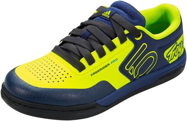 adidas Five Ten Freerider Pro TLD Chaussures pour VTT Homme, solar yellowsolar yellowcarbon